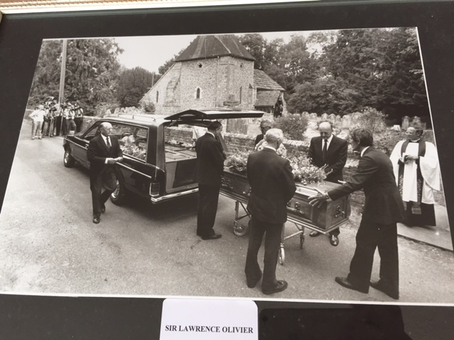 Laurence Olivier funeral